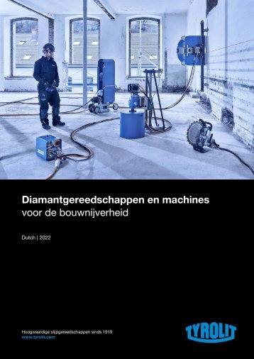 Diamond Tools and Machines 2018 - Dutch