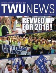 TWU News Autumn 2016