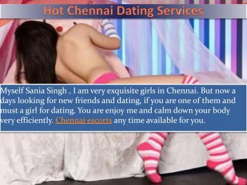 Professional Dating Service in Chennai by Sania