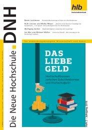 Die Neue Hochschule Heft 2/2016