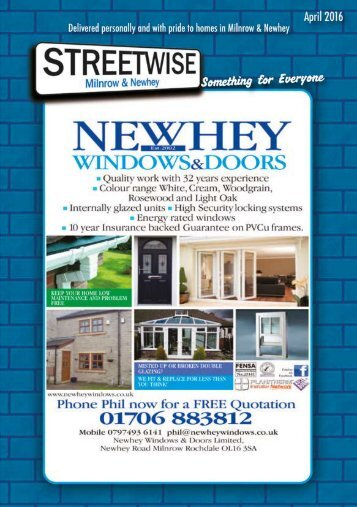 Milnrow & Newhey April 2016