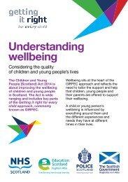 Understanding wellbeing