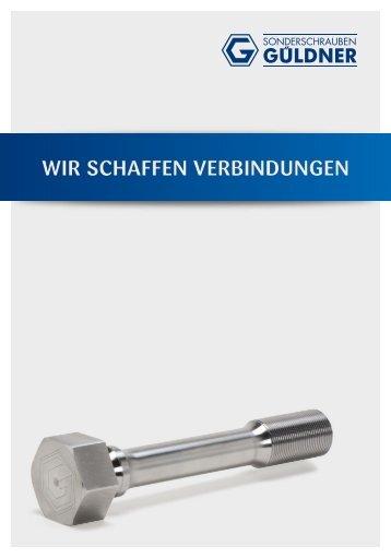 Güldner - WIR SCHAFFEN VERBINDUNGEN!