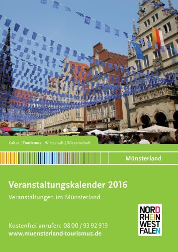 Veranstaltungskalender Münsterland 2016