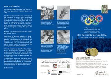 Ausstellung: die Kehrseite der Medaille
