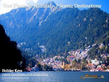 Best Places in Nainital – 7 Scenic Destinations | HolidayKeys.co.uk