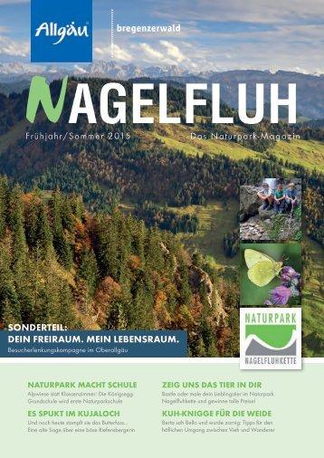 NAGELFLUH Frühjahr/Sommer 2015 - Das Naturpark-Magazin