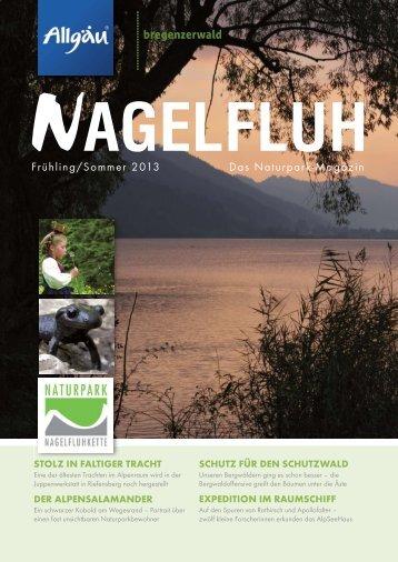NAGELFLUH Frühjahr/Sommer 2013 - Das Naturpark-Magazin