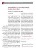 A PROPOSAL TO REVIVE THE EUROPEAN FISCAL FRAMEWORK - Page 2