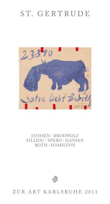 horst janssen - Verlag St. Gertrude