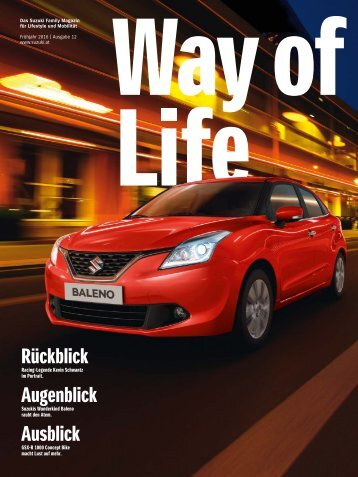 Way of Life Frühling 2016 | Ausgabe 12