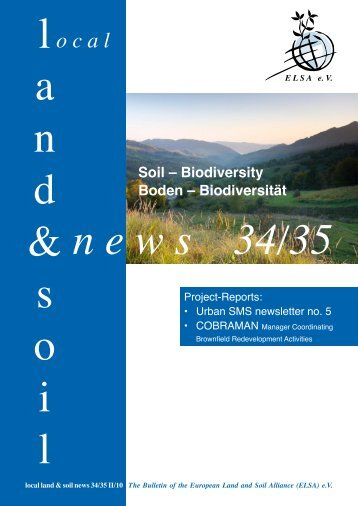 Sustainable Land Management A new German Research ... - Zalf