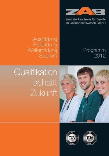 Qualifikation schafft Zukunft - ZAB