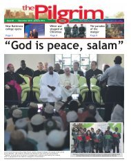 Issue 45 - The Pilgrim - December 2015 & January 2016 - The newspaper of the Archdiocese of Southwark