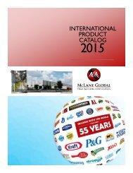 McLane Global US Brands Catalog 2016