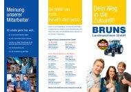 Dein Weg in die Zukunft! - August Bruns Landmaschinen GmbH