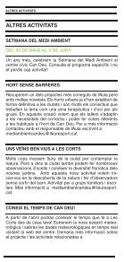 AULA D'EDUCACIÓ AMBIENTAL DE LES CORTS - Page 7
