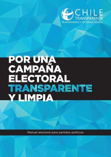 Manual electoral para partidos políticos