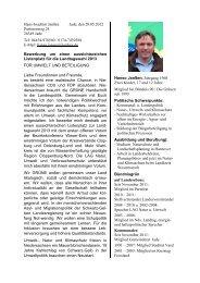 Bewerbung_LDK_Hanso Janssen - der Grünen Oldenburg Land