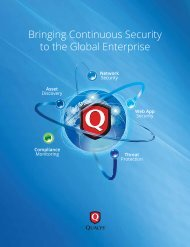 Bringing Continuous Security to the Global Enterprise