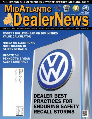 APRIL 2016 MidAtlantic Dealer News