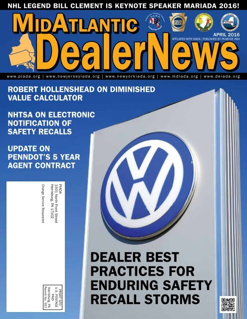 APRIL 2016 MidAtlantic Dealer News