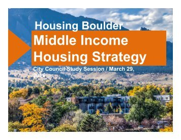 Middle Income Housing Strategy