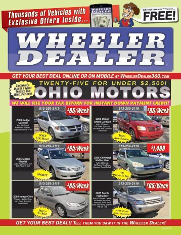 Wheeler Dealer Issue 14, 2016