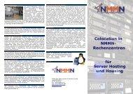 Colocation in NMMN- Rechenzentren für Server Hosting und Housing