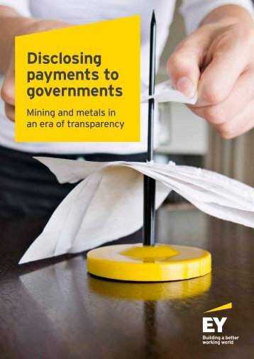 Disclosing payments to governments