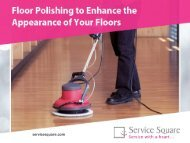 Benefits of Getting Professional Floor Polishing Services