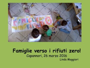 Famiglie verso i rifiuti zero!