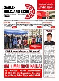 Saale-Holzland-Echo Ausgabe 1 / 2016