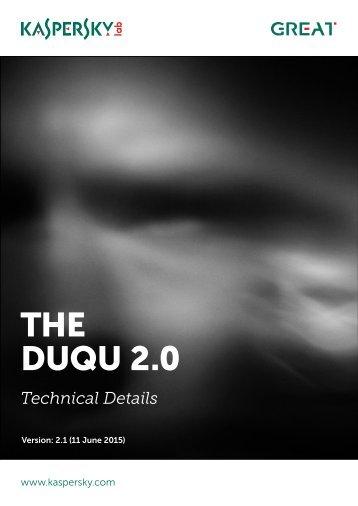 THE DUQU 2.0