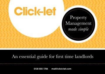 An essential guide for first time landlords