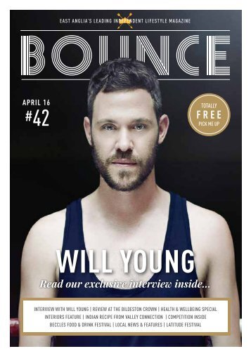 Aprils Edition of Bounce Magazine