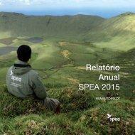 Relatório Anual SPEA 2015