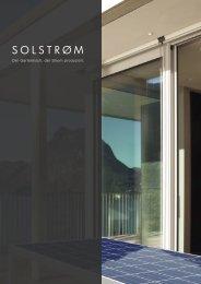 Solstrøm Broschüre