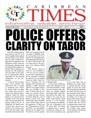 Caribbean Times 77th issue - Tuesday 29th March 2016