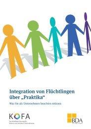 """Integration von Flüchtlingen über """"Praktika"""""""
