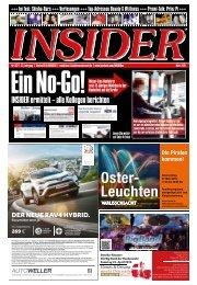 INSIDER Osnabrück // März 2016 // No. 392