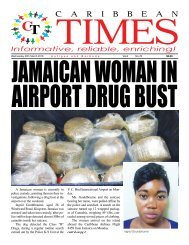 Caribbean Times 78th issue - Wednesday 30th March 2016