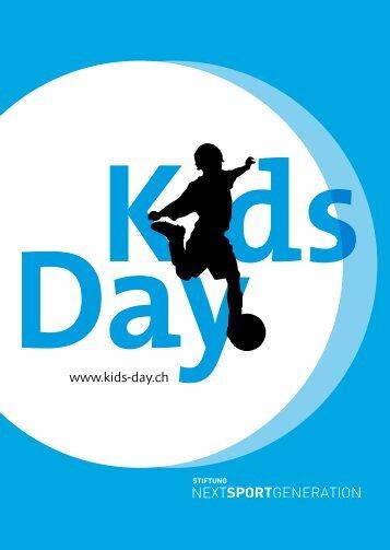 KidsDay Broschüre 2016