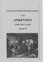 Dorpskroniek van Ankeveen over het jaar 1887