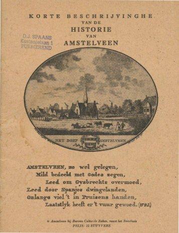 Historie van Amstelveen