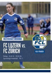 FCL-Frauen Matchprogramm 07
