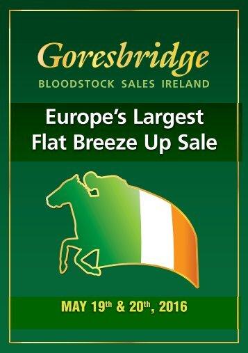 Europe's Largest Flat Breeze Up Sale