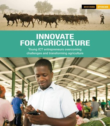 INNOVATE FOR AGRICULTURE