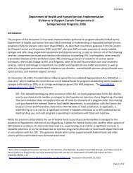 Syringe Services Programs 2016