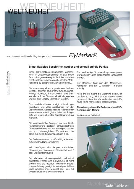 FlyMarker - wittich
